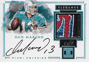 2017 Panini Impeccable Football Cards 29