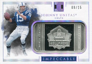 2017 Panini Impeccable Football Cards 33