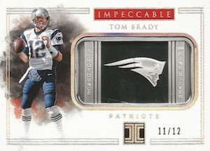 2017 Panini Impeccable Football Cards 34