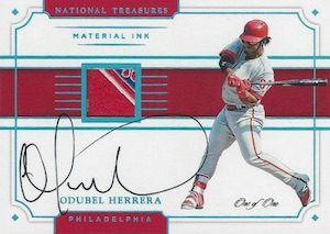 2017 Panini National Treasures Baseball Cards 28