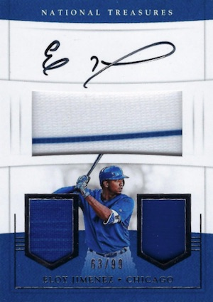 2017 Panini National Treasures Baseball Cards 35