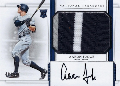 Aaron Judge Rookie Cards Checklist and Key Prospects 18