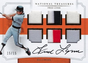 2017 Panini National Treasures Baseball Cards 36