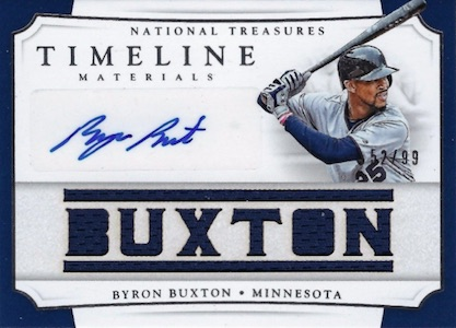 2017 Panini National Treasures Baseball Cards 37