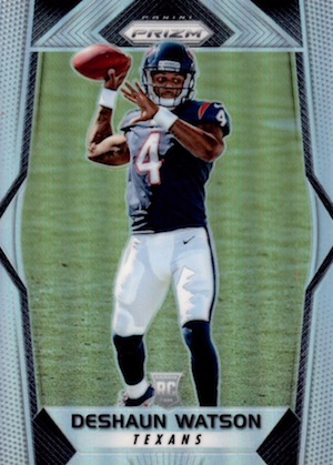 Top Deshaun Watson Rookie Cards to Collect 12