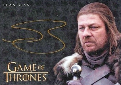 2017 Rittenhouse Game of Thrones Valyrian Steel Trading Cards 4