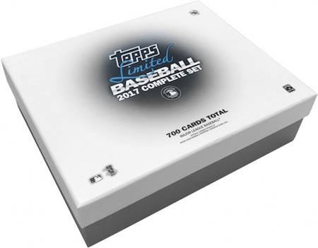2017 Topps Baseball Complete Set Limited