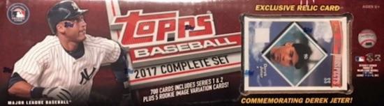 2017 Topps Baseball Complete Set Guide 9