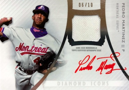 2017 Topps Diamond Icons Baseball