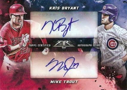 2017 Topps Fire Baseball Cards 25