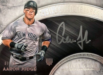 Aaron Judge Rookie Cards Checklist and Key Prospects 49
