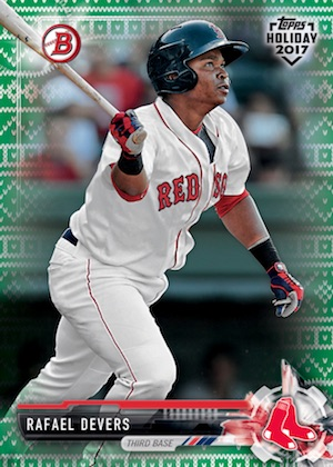 2017 Topps Holiday Bowman Baseball