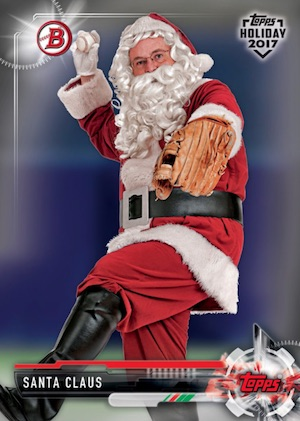 2017 Topps Holiday Bowman Baseball Cards 2