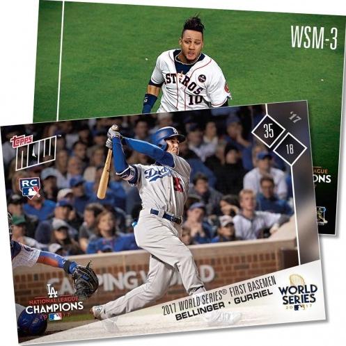 2017 Topps Now World Series Baseball Cards 1
