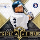 2017 Topps Triple Threads Baseball Cards