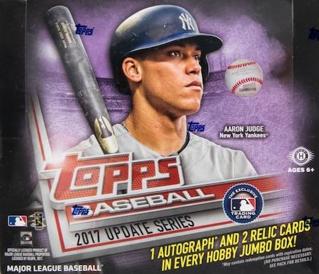 2017 Topps Update Series Baseball Cards 43