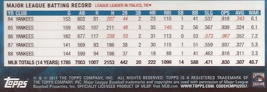 2017 Topps Update Series Baseball Variations Guide 2