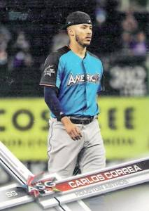 2017 Topps Update Series Baseball Variations Guide 142