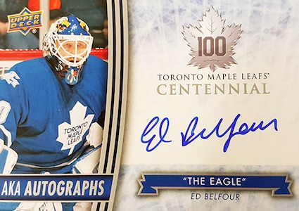 2017 Upper Deck Toronto Maple Leafs Centennial Hockey Cards 24