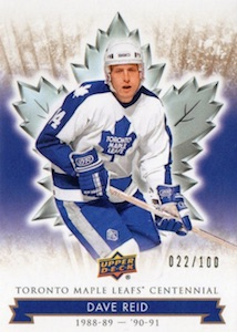 2017 Upper Deck Toronto Maple Leafs Centennial Hockey Cards 21