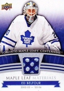 2017 Upper Deck Toronto Maple Leafs Centennial Hockey Cards 25
