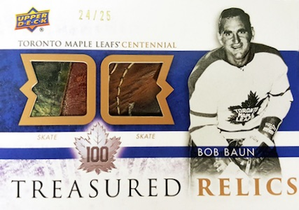 2017 Upper Deck Toronto Maple Leafs Centennial Hockey Cards 27