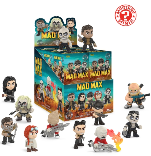 2017 Funko Mad Max Fury Road Mystery Minis 1