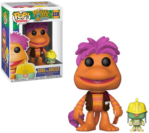 Funko Pop Fraggle Rock Vinyl Figures 3