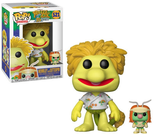 Funko Pop Fraggle Rock Vinyl Figures 7