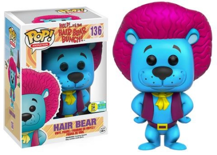 Funko Pop Hair Bear Bunch Vinyl Figures 21