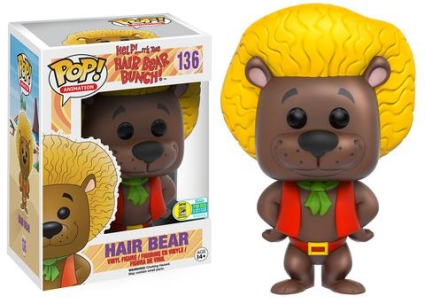 Funko Pop Hair Bear Bunch Vinyl Figures 22