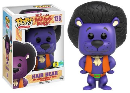 Funko Pop Hair Bear Bunch Vinyl Figures 23