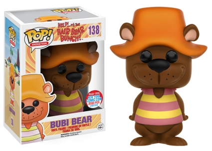 Funko Pop Hair Bear Bunch Vinyl Figures 26