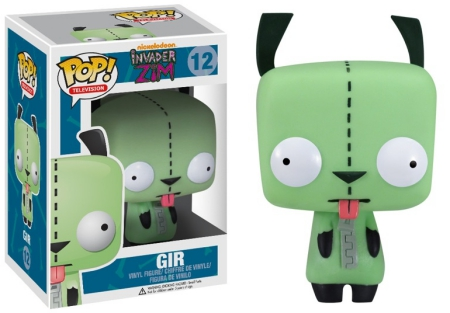 Funko Pop Invader Zim Vinyl Figures 1