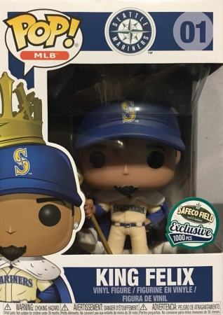 Funko Pop King Felix Hernandez