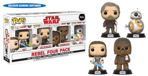 Funko Pop Star Wars Last Jedi Vinyl Figures 71