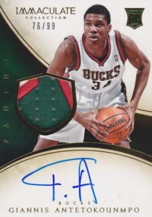 Greek Freak! Top Giannis Antetokounmpo Rookie Cards 17