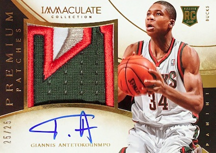 Top Giannis Antetokounmpo Rookie Cards 18