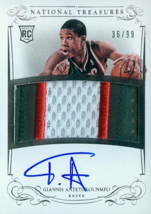 Top Giannis Antetokounmpo Rookie Cards 19