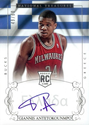 Top Giannis Antetokounmpo Rookie Cards 20