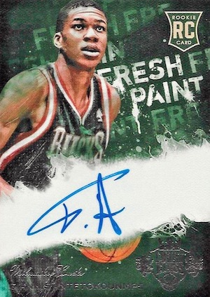Top Giannis Antetokounmpo Rookie Cards 9