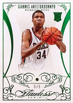 Top Giannis Antetokounmpo Rookie Cards 15