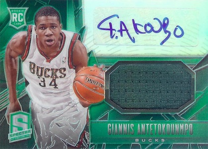 Top Giannis Antetokounmpo Rookie Cards 5