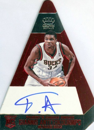 Top Giannis Antetokounmpo Rookie Cards 10