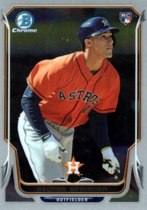 Top George Springer Rookie Cards and Key Prospects 1