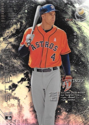 MVP! Top George Springer Rookie Cards and Key Prospects 3