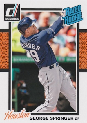 Top George Springer Rookie Cards and Key Prospects 4
