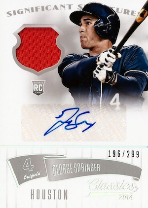 Top George Springer Rookie Cards and Key Prospects 13