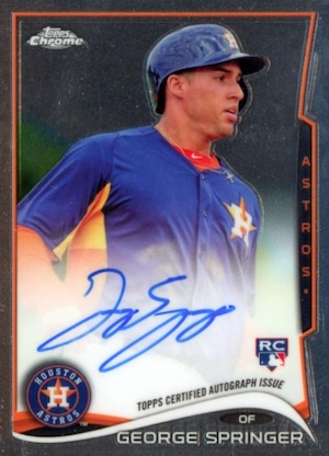 Top George Springer Rookie Cards and Key Prospects 17