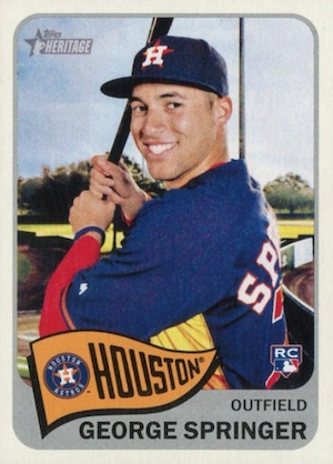 Top George Springer Rookie Cards and Key Prospects 21